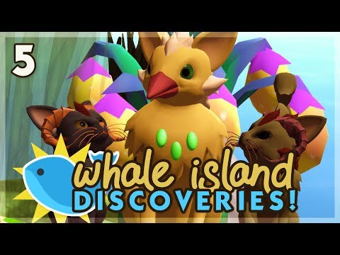 One Fearless Bird! | Niche Let's Play • Whale Island Discoveries - Episode 5