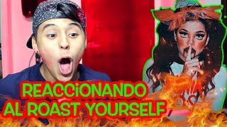 Reaccionando al Roast Yourself de Kenia Os | Soy Fredy