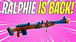RALPHIE'S REVENGE IS BACK! Patch 7.01 Patch Notes | Fortnite Save The World News