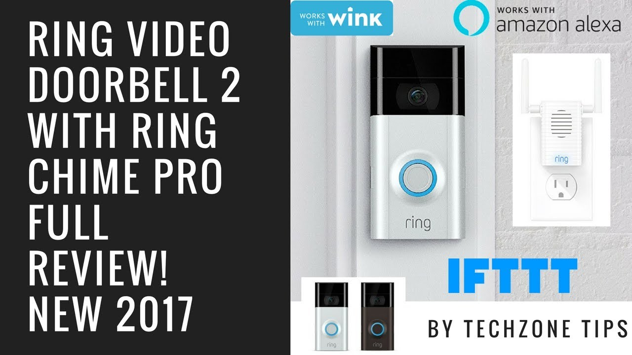 Ring Video Doorbell 2 with Ring Chime Pro Review - YouTube