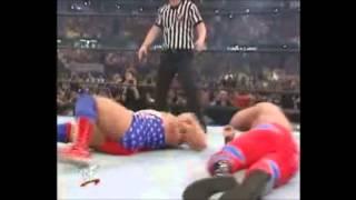 Kurt Angle Vs Chris Benoit Wrestlemania 17 Highlights HD