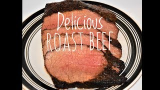 How To Cook A Roast In The Oven - Oven Roast Beef