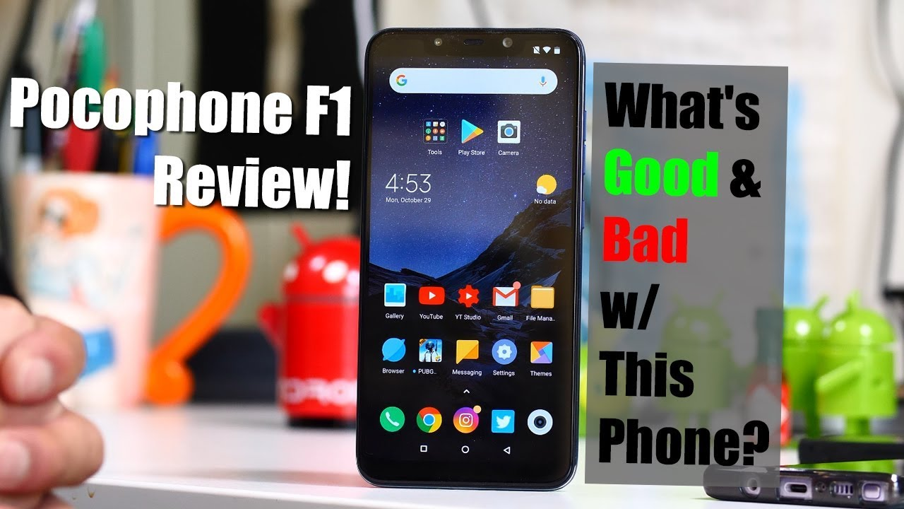 Pocophone F1 Review! – What's Good & Bad w/ This Phone