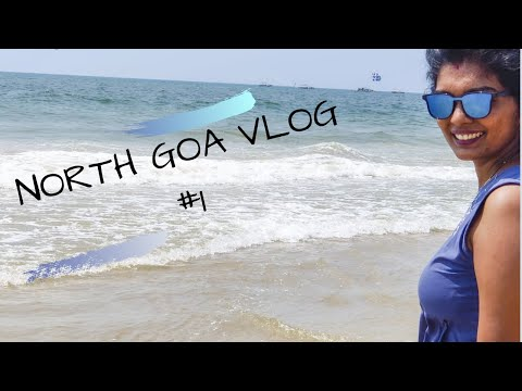 North Goa Vlog #1 | where to stay | Places to visit in Goa | Top beaches in Goa