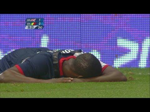 Great Britain 1-1 Senegal - Men's Football Group A   London 2012 Olympics