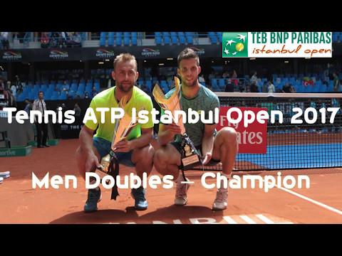 Tennis ATP Istanbul Open 2017 - Men Doubles Champion