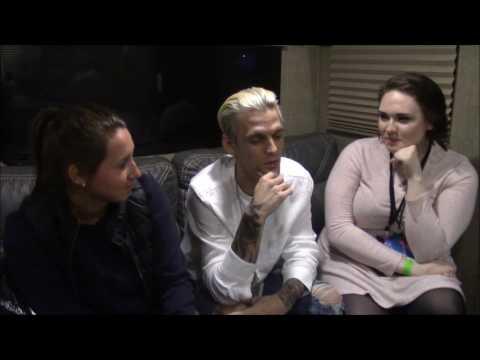 Aaron Carter Interview | Renee and Sally