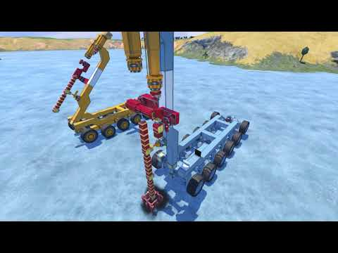 Space Engineers Deep Ore Mining Rig