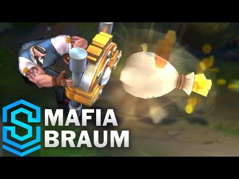 Mafia Braum Skin Spotlight - Pre-Release - League of Legends thumbnail