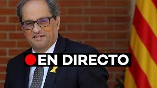 En directo: Quim Torra valora el encuentro con Pedro Sánchez
