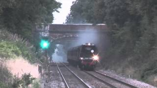 steam train at speed # 214