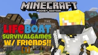 [MCPE] - HOLE OF DOOM!! - Lifeboat Survival Games [1]
