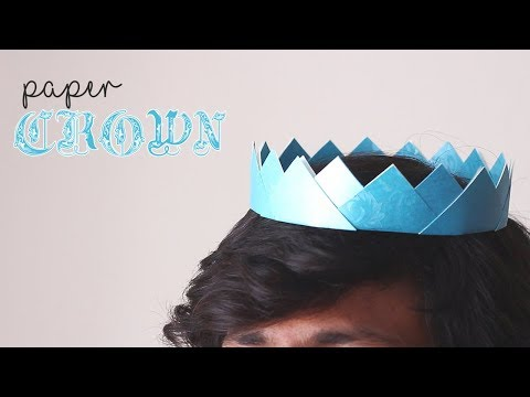 How To Make Paper Crown || How To Make Paper Rocket || Origami Crown || Ideas Factory