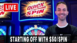 🔴 LIVE Premiere 🤑 $1000 HIGH LIMIT for Brian's Birthday ➡ $50/SPIN to Start! 🥳