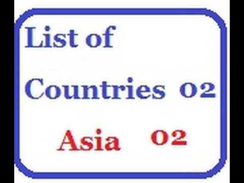 List of Countries 02