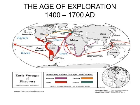 a history of the age of exploration throughout the world We can only understand the explorer christopher columbus  the history of the age  regions of the world exploration on a grand scale can.