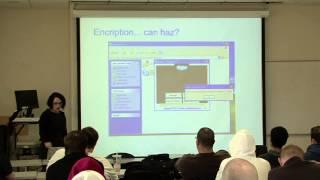 Computer Science Colloquium - February 7, 2013 - Eva Galperin