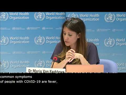 Live From WHO Headquarters - COVID-19 Daily Press Briefing 20 MAY 2020