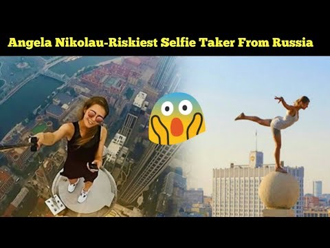 Riskiest Selfie Ever | World's Riskiest  Selfie  Girl | Angela Nikolau - PART 1 |