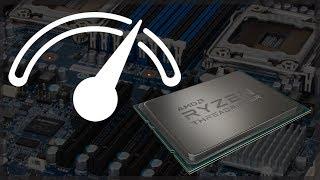 How high can you overclock an AMD Ryzen Threadripper Processor