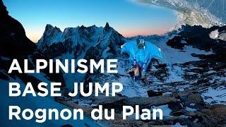 11026_ Traversée Midi Plan base jump wingsuit Chamonix Mont-Blanc alpinisme