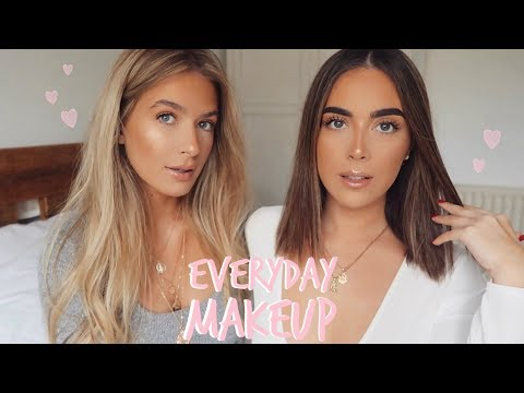 OUR EVERYDAY MAKEUP ROUTINE! | Sophia and Cinzia