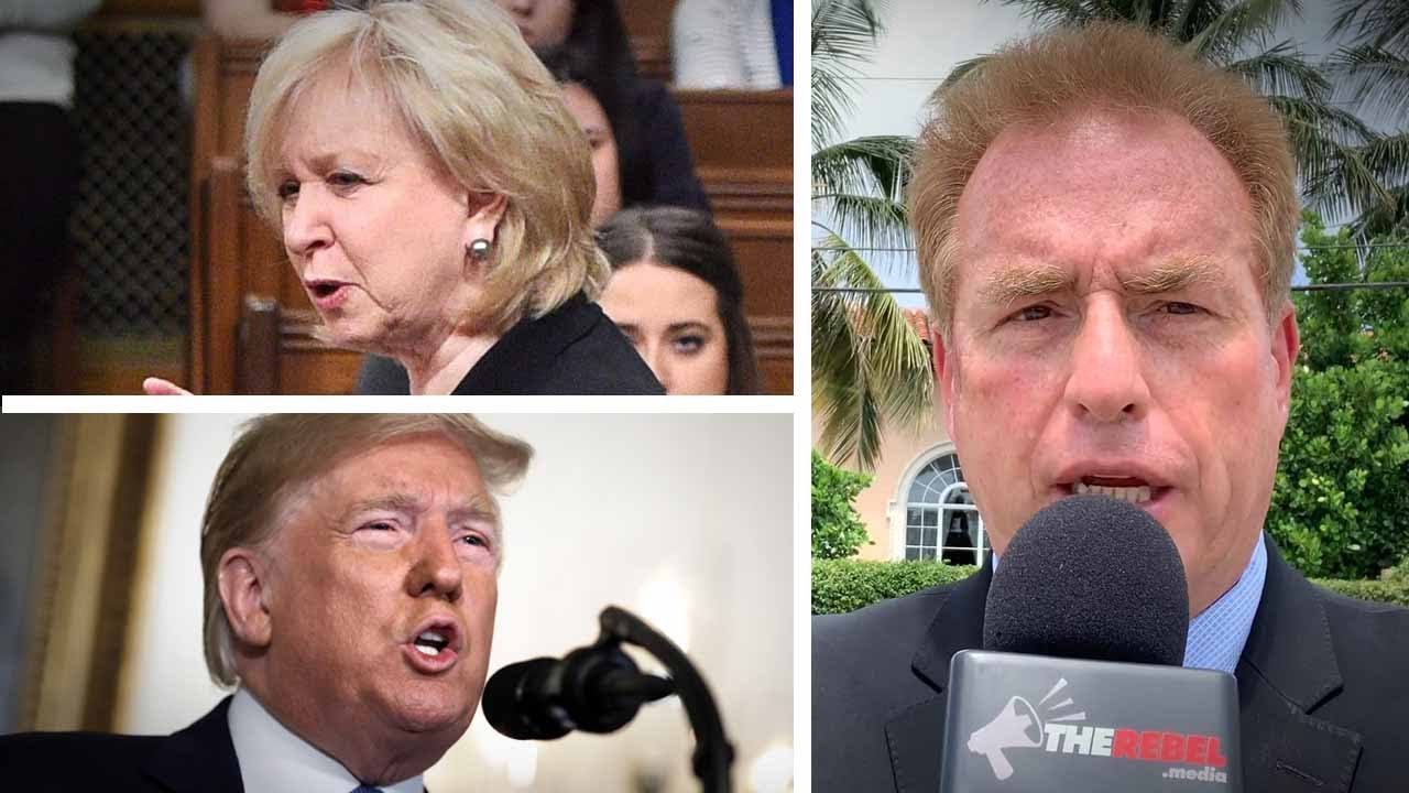 """Trump's not even here!"" Palm Beach talks Kim Campbell's Hurricane Dorian tweet 