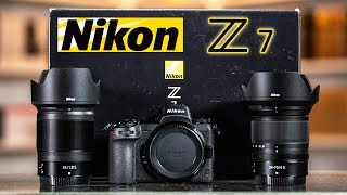 OFFICIAL NIKON Z7 Unboxing | Beats SONY But Not CANON...in Ergonomics