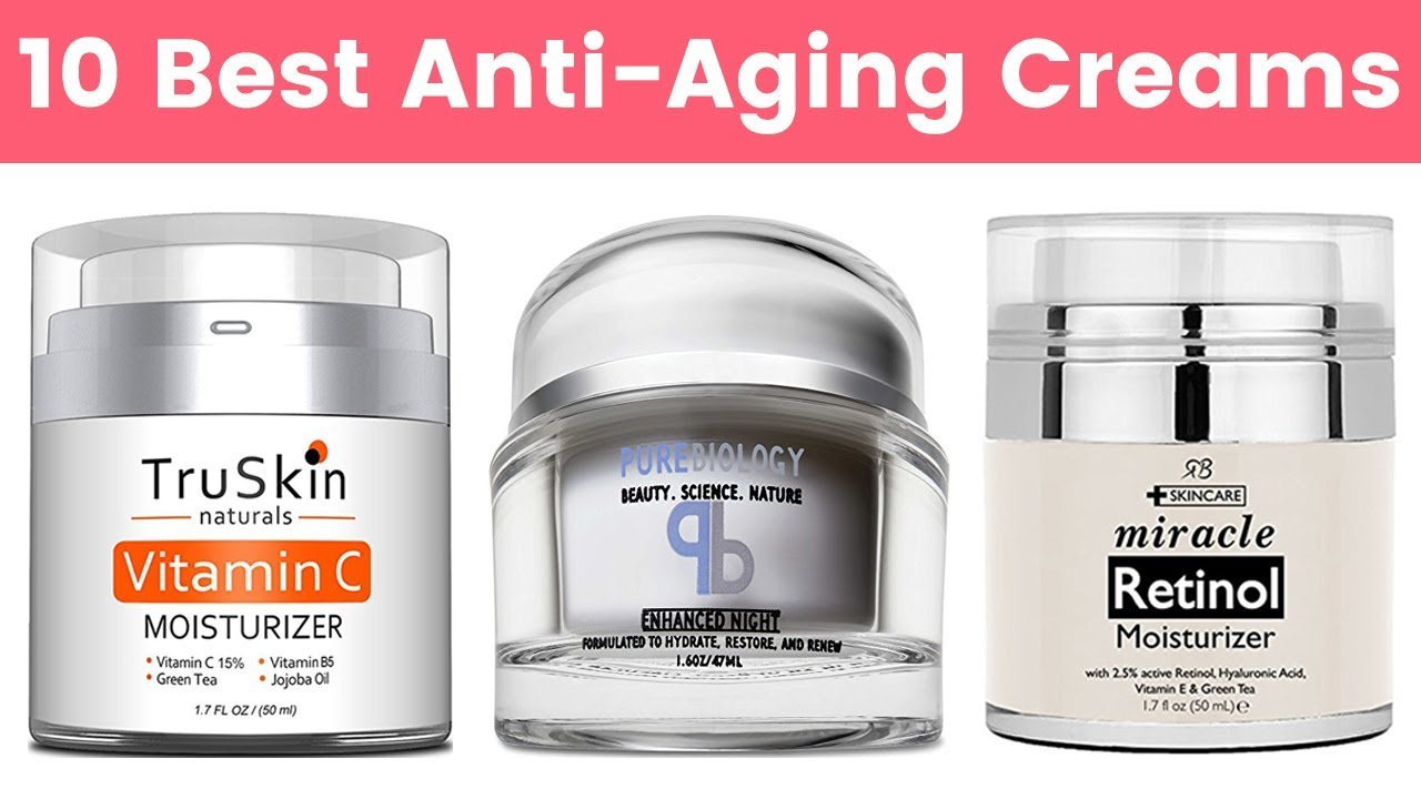 10 anti-aging products