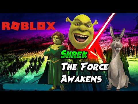 I Love Shrek Roblox Shrek The Force Awakens Roblox Funny Moments Youtube
