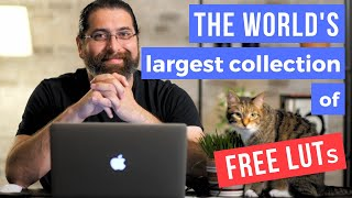 World's Largest Collection of FREE LUTs (First LUT Sharing Platform)