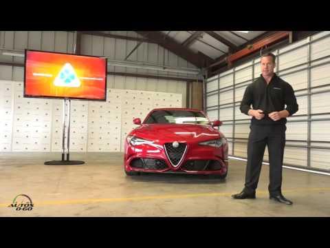 2017 Alfa Romeo Giulia Presentation by US CEO, Reid Bigland