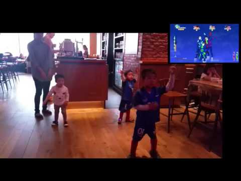 Just Dance - Best Song Forever - Kids Theo Tristand - Pentalounge Shanghai
