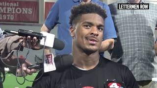 Dre'Mont Jones: Ohio State defensive lineman talks touchdown vs. TCU - Sept 18, 2018