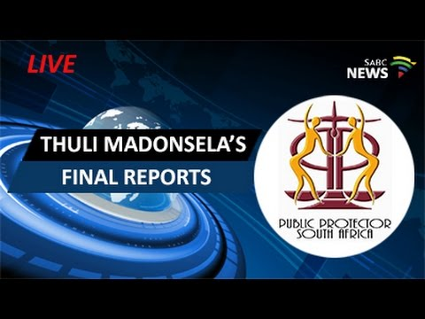 Public Protector Thuli Madosela releases final reports