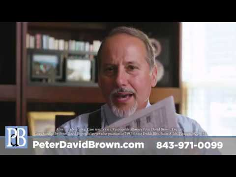 Attorney Peter Brown - FR-10 TV ad - July 2019