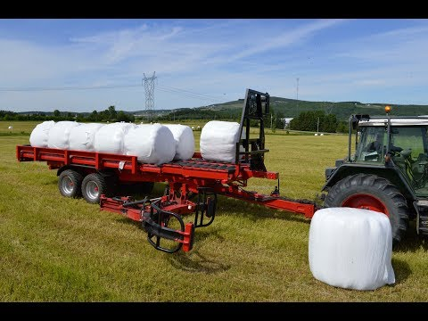 Anderson World First Silage Wrap Bale mover - RBMPRO 2000 - Agritechnica 2017 Hall 27