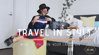 What To Pack For Your Short Trip | Travel In Style