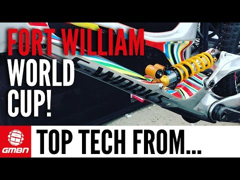 Best Tech From The Fort William World Cup | GMBN At Fort William