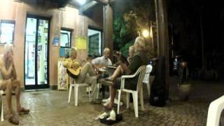 4 musici-camping Villadoria in Genua