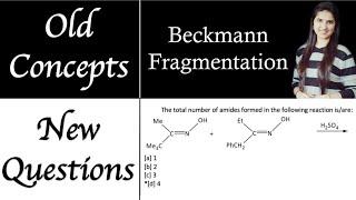 Beckmann Rearrangement|Beckmann Fragmentation|Organic Chemistry|J Chemistry