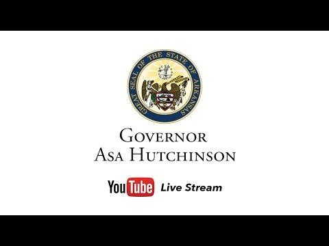 LIVE: Governor Asa Hutchinson - Arkansas & Facebook Techstart Partnership Announcement