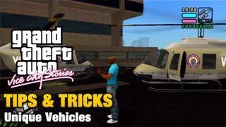 GTA Vice City Stories - Tips & Tricks - Unique Vehicles thumbnail