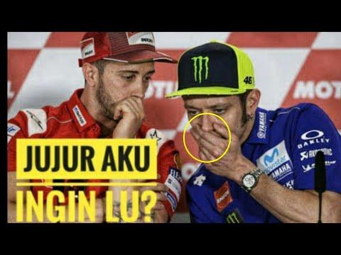 Berita MotoGP: Andrea Dovizioso Ternyata Inginkan Ini dari Valentino Rossi