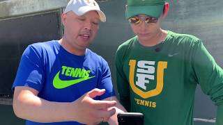 TENNIS SERVE AND DRILLS - FIXING JAKES SERVE YouTube Videos