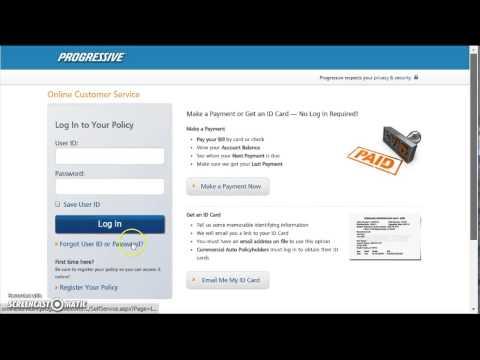 Progressive Auto Insurance Login | www.progressive.com