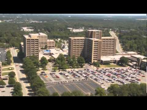 Animated Flyover of Future Baptist Health Little Rock Campus