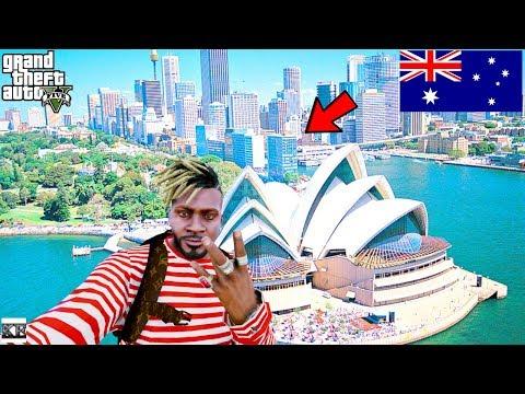 GTA 5- Trip To Australia (GTA 5 Real Life Mods SS10 #47)