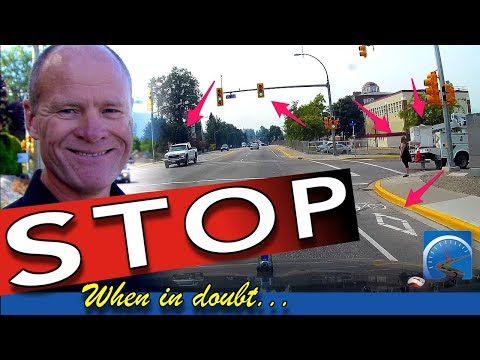 How to Determine the Right-of-Way to Pass a Road Test and Stopping
