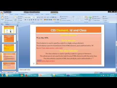 CSS 3 Training - Lecture 1 by Murad Khan ( Urdu/Hindi )
